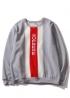 Серый свитшот Supreme - SS1114