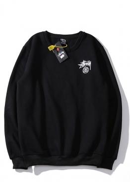 Чёрный свитшот Stussy - SU1111