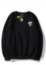 Купить чёрный свитшот Stussy в Киеве с доставкой по Украине