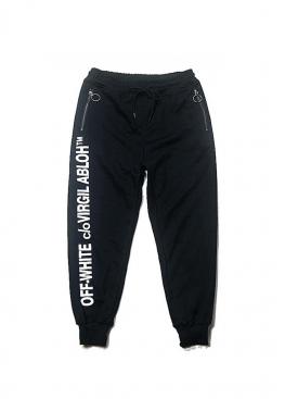 Чёрные штаны Off-white - TO1112