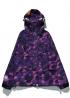 Фиолетовая ветровка Bape Camo - VA1112