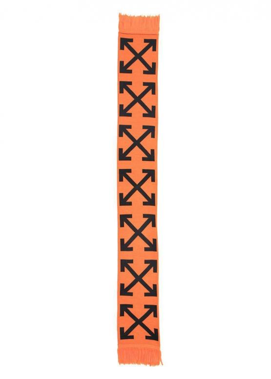Купить оранжевый шарф Off-white в Киеве с доставкой по Украине