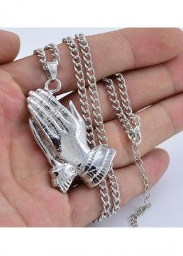 Серебряная цепочка с амулетом Drake style - XS1117